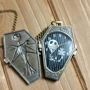 Jack Skellington Coffin Necklace